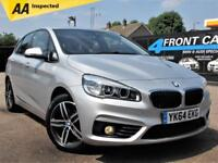 2014 BMW 2 SERIES 218D SPORT ACTIVE TOURER AUTOMATIC HATCHBACK DIESEL