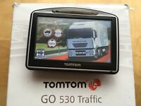 TomTom GO 530 Traffic HGV + NEW Europe TRUCK map v971! Perfect, up-to-date July 2016!