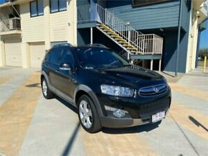2011 Holden Captiva CG Series II 7 LX (4x4) Black 6 Speed Automatic Wagon Cleveland Redland Area Preview