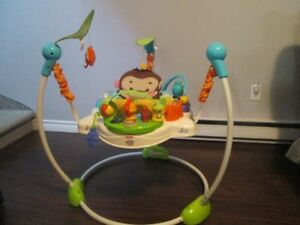 Sauteur musical fisher price