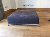 Grey sofa in two parts collection only on 5th floor