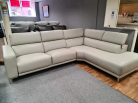Brand new Genuine Leather sofa power recliner
