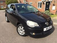 **BARGAIN**2005 55 Volkswagen Polo 1.4 S*FSH*HPI CLEAR*PRIVATE PLATE*IDEAL FIRST CAR*