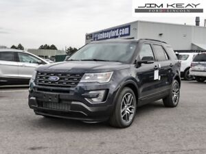2017 Ford Explorer Sport  - Sunroof - $188.49 /Wk