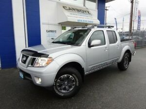 2015 Nissan Frontier PRO-4X Crew, Nav, Sunroof, Leather, 19,000