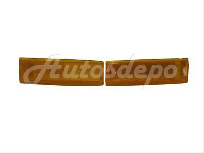 Bundle Side Marker Light Set=Lh & Rh For 1982-1993 S10 S15 Sonoma