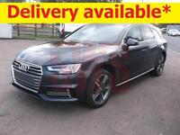 2017 Audi A4 Avant 2.0 TDi S-Line, (110KW/150PS) DAMAGED ON DELIVERY