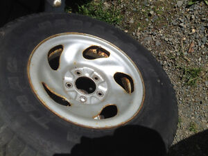 """Set of 4 - 16"""" Ford F 150 rims  plate silver rims -  $30 each St. John's Newfoundland image 1"""