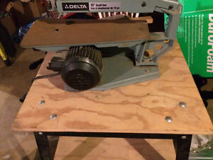 """Delta 15"""" Scroll saw with stand"""