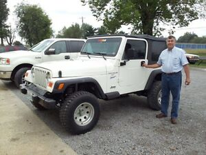 Jeep wanted