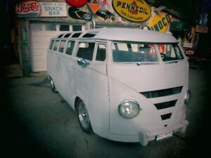 1964 21 Window VW bus total custom