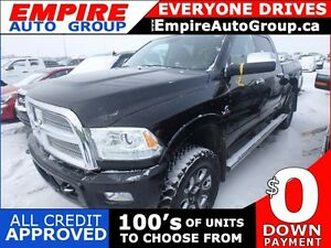 2013 RAM 3500 LARAMIE LONGHORN EDITION * 4WD * LEATHER * NAV * R