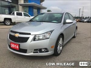 2014 Chevrolet Cruze 2LT  - Certified - Leather Seats