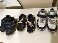 Boy shoes - 3 pairs for 8£