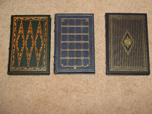Three Franklin Mint Books Moby Dick Reivers Sound and the Fury
