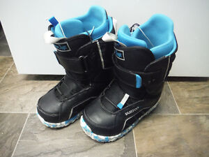 Burton Zipline Size 6 Youth Snowboard Boots for Sale!