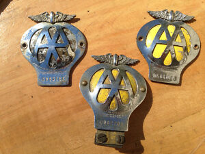 AA LICENSE PLATE TOPPER BADGES - PARKER PICKERS -