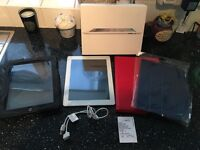 iPad 2 32 GB wifi with cases & 6 month screen warranty