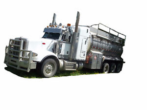 2014 PETERBILT 367 TRI DRIVE TANK TRUCK Cash/ trade/ lease to ow