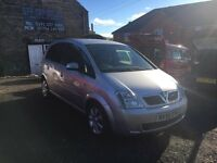 2006 Vauxhall Meriva 1.4 Breeze, Silver Only 60k Miles FSH + Done 29/4/16, 12 MOT, 1 Previous Owner,