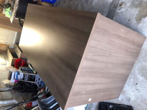 Brown table/desk  immaculate condition