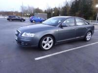 2005 Audi A6 Saloon 3.0TDI auto 2005MY quattro S Line.FULL YEAR MOT,