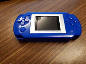Portable handheld gaming system 268 games .