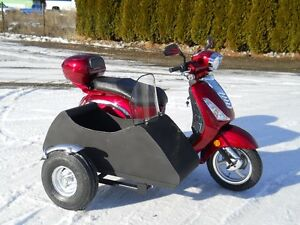 SAGA 150 SCOOTER  with  SIDECAR   MINT