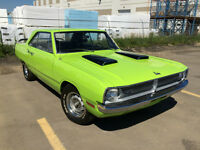 RARE!! 340 4-SPEED DODGE DART SWINGER, #'s MATCHING DRIVETRAIN