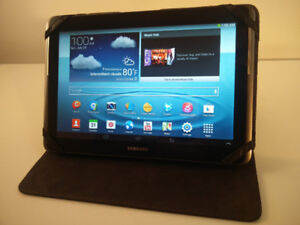 "Samsung Galaxy Tab 2 10"" tablet with Targus case"