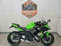 2018 Kawasaki Ninja 650 KRT edition.