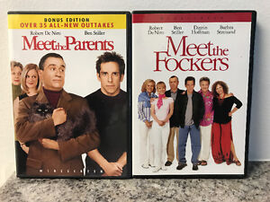 Meet the Parents and Meet the Fockers DVDs