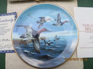 6 Ducks Unlimited Waterfowl Kaatz Plates London Ontario image 1