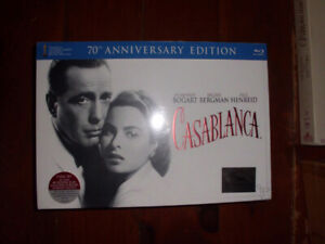 Casablanca 70th Anniversary Sealed Boxed Set Blue Ray DVD $40