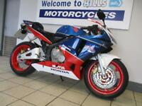 HONDA CBR 600 RR LEFT SIDE DROP DAMAGE RUNNING REPAIRABLE SALVAGE PROJECT 06 REG