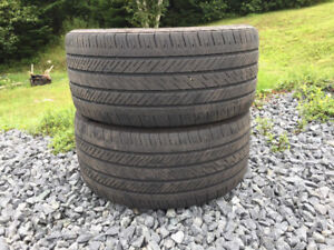 Two Michelin 245/40R17 Summer Tires Excellent Tread