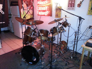 1980 Vintage Tama Superstar Kit and accessories