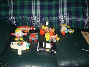 Vintage Fisher Price Toy collection