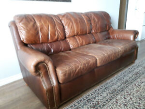 Full Grain Leather Couch
