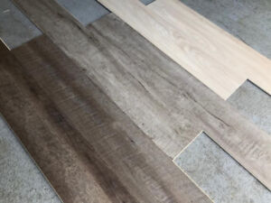 Luxury Vinyl Plank Flooring - $2.50/sqft (Delivery available)