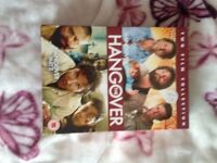Hangover dvd's collection