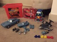 Lightning Mcqueen Cars Toy bundle with Storage Box - £10 **Collect from Romford, RM1**