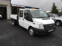 Ford Transit 2.2TDCi 2013 63 Reg One stop tipper Double cab