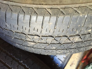 Firestone M & S tires for sale