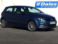 2014 Volkswagen Polo 1.4 TSI ACT BlueGT 3dr 3 door Hatchback