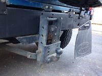 Land Rover defender tow bar
