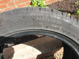 Tyre LASSA 245x45x18 Bridgestone
