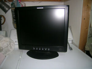 17 inch Liquid Video LCD Monitor / good condition