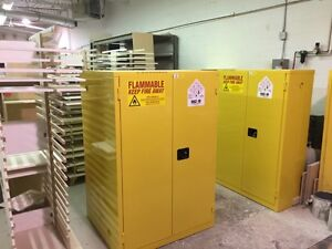 Flammable Safety Cabinets - Ready to ship today Kitchener / Waterloo Kitchener Area image 8