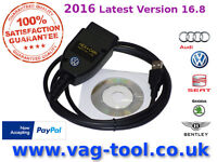 2016 VAG-TOOL as good as VAGCOM VCDS VAS HEX CAN, The best Diagnostic tool for AUDI VW SEAT SKODA